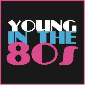 young in the 80s logo